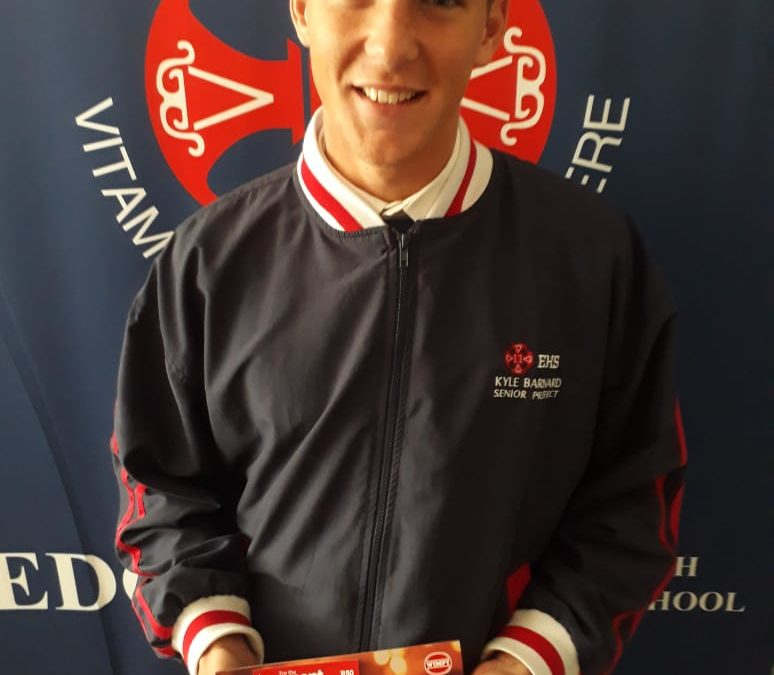 EHS 1st XV Wimpy man of the match