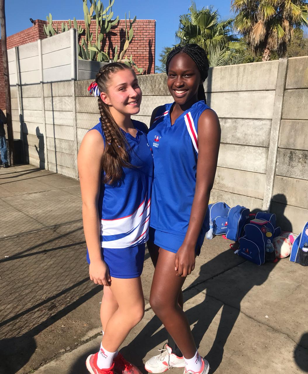 EHS netballs girls selected to represent WP netball