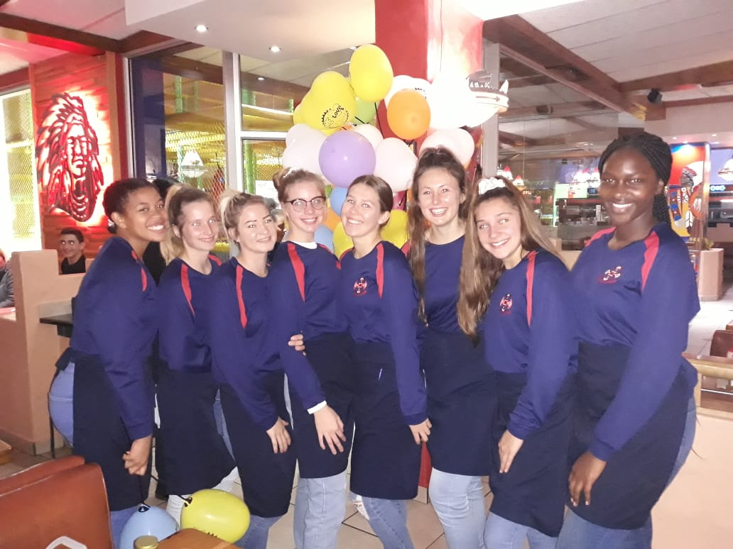 Netball girls raise funds for tour.