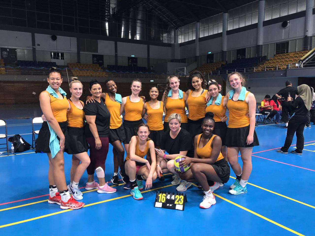 Rosemary selected to Invitational Netball team to tour Malaysia and Singapore.