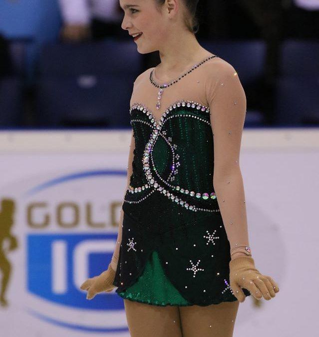 Emma skates her way to success.